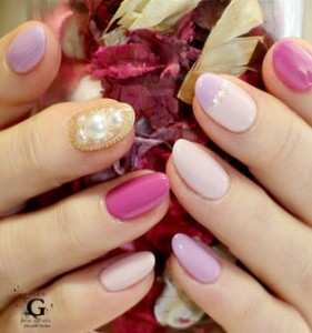 2015年春の可愛いピンクネイルをチェック!色んなネイルを参考にしてみてね♪